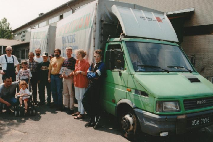 1998-06 Transport Sonderschule in Nysa 2